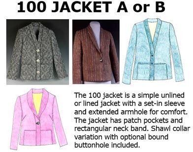 100 Jacket Downloadable Pattern