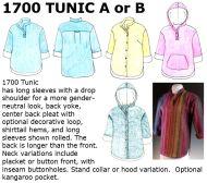 1700 Drop Shoulder Tunic Downloadable Pattern