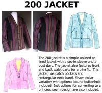 200 Jacket Downloadable Pattern