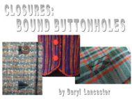 Digital: Bound Buttonholes