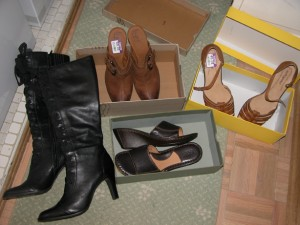 A shoe shopping extravaganza at DSO